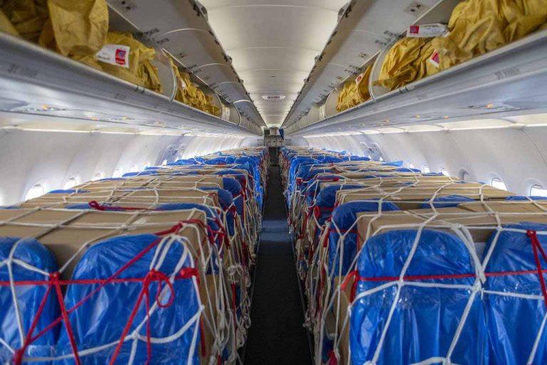 Aviação: Apesar de queda no volume, sobe a receita com carga aérea