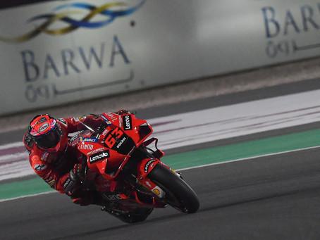 MotoGP: Pecco lidera grid com primeira fila totalmente Yamaha