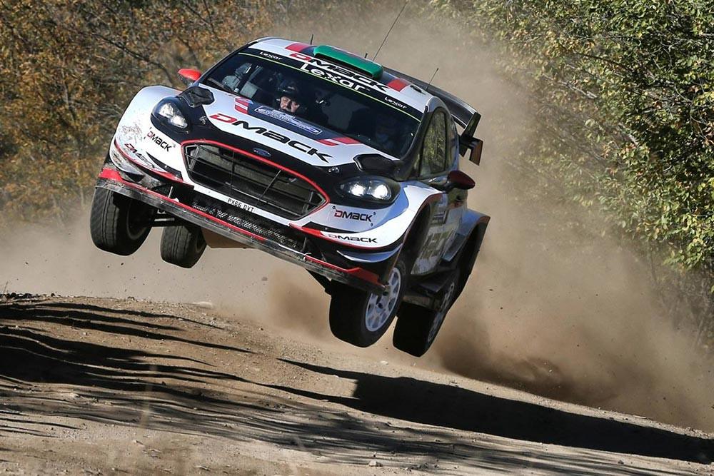 Evans / Barritt (Ford Fiesta WRC)