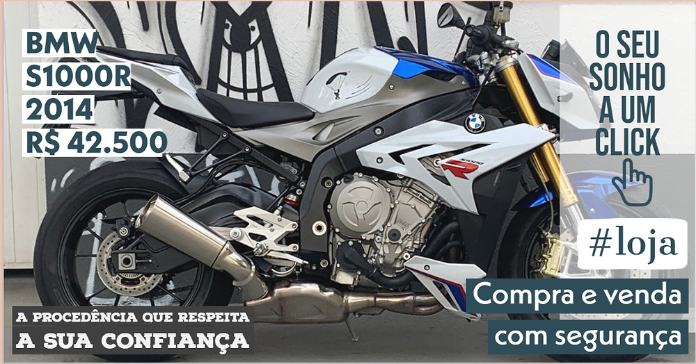 A #LOJA PUBLIRACING BMW S1000R - Ano 2014