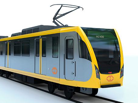 CAF vai entregar trinta unidades para o metrô de superfície da cidade de Manila