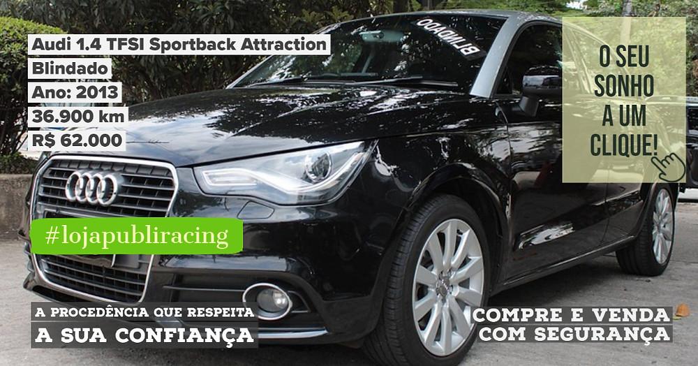 ACESSE CLICANDO - Audi A1 Sportback Attraction - Blindado.