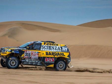 Dakar 2018: Carlos Sousa foi 13º na quarta etapa e sobe na classificação