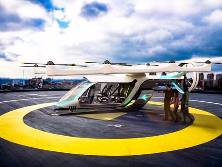 Embraer X revela primeiro conceito do eVTOL