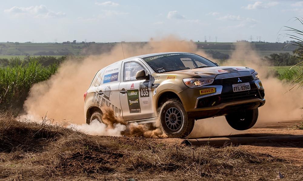 Corrida em autódromo de terra é a novidade da próxima etapa da Mitsubishi Cup