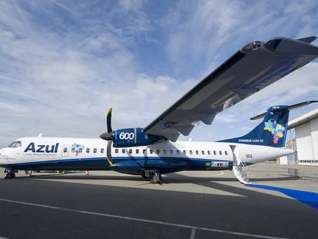 Azul terá 162 voos extras durante a Semana Santa