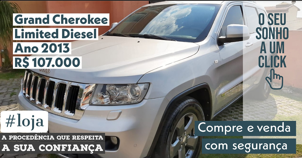 A #LOJA PUBLIRACING - Grand Cherokee Limited Diesel