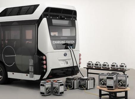 Expressas: Toyota e Honda desenvolvem sistema móvel de geração de energia