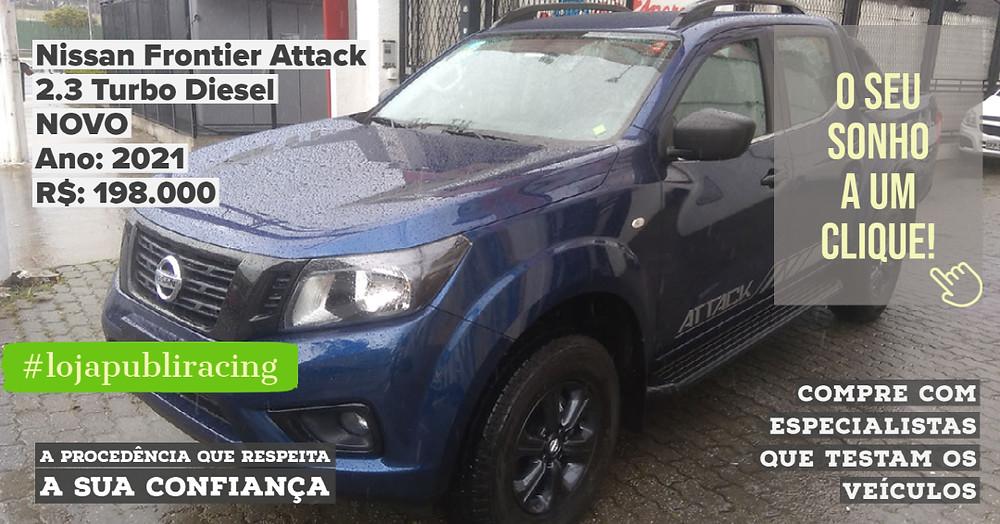 ACESSE #LOJA PUBLIRACING - Nissan Frontier Attack NOVA
