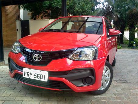 Toyota Etios HB, uma proposta que continua a ser reconhecida pela eficiência