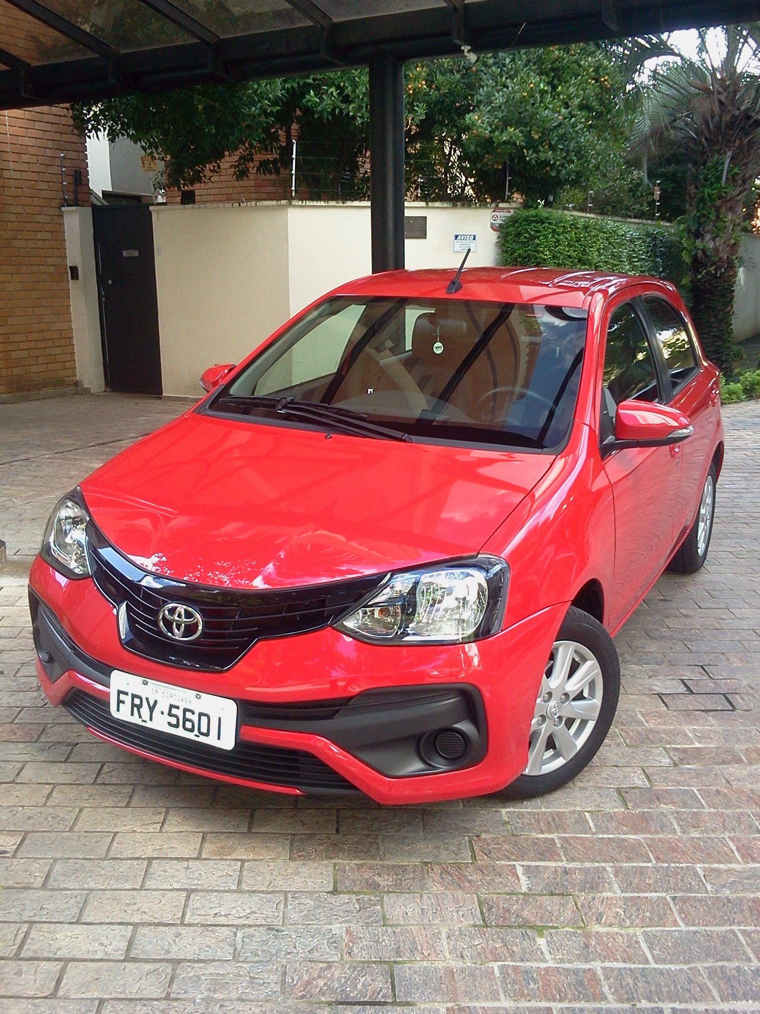 Toyota Etios HB, uma proposta que continua a ser reconhecida pela eficiência.