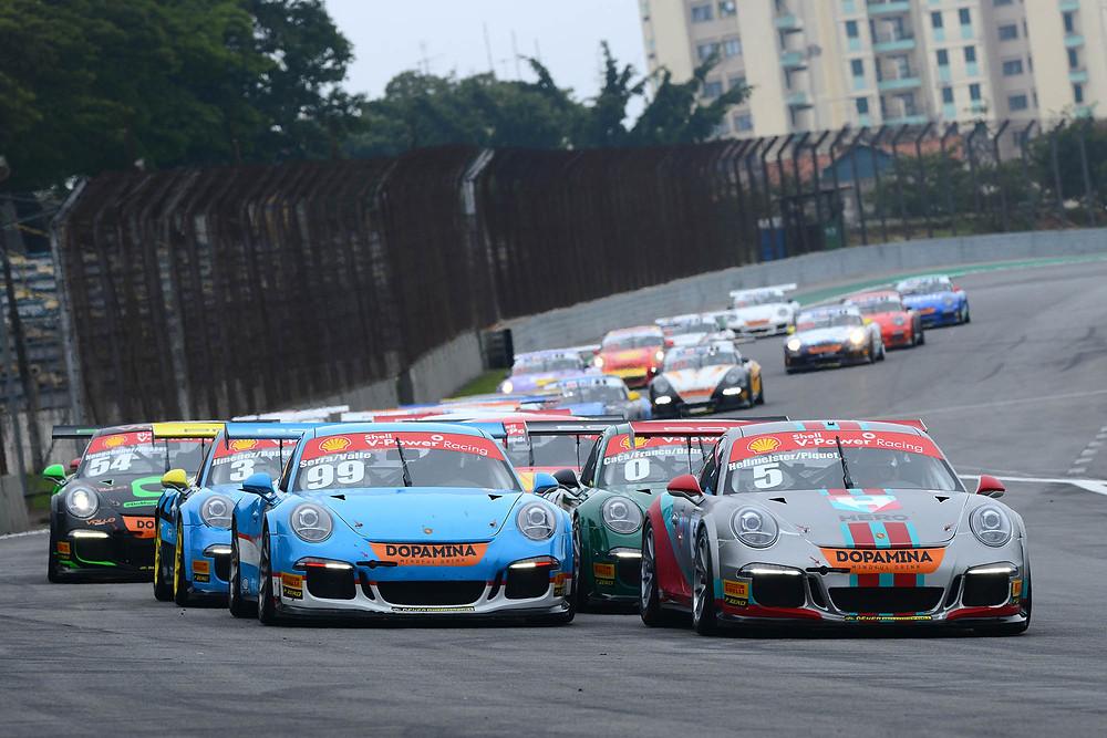 Jimenez e Rodrigo Baptista vencem os 500 km da Porsche GT3 Cup