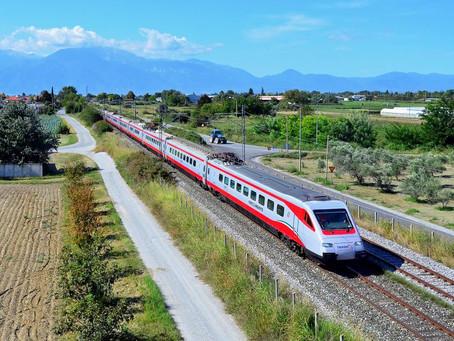 Ferrovia: O primeiro ETR470 italiano renovado chega para operar na Grécia