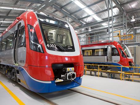 A Bombardier fornecerá doze trens adicionais para linhas suburbanas de Adelaide