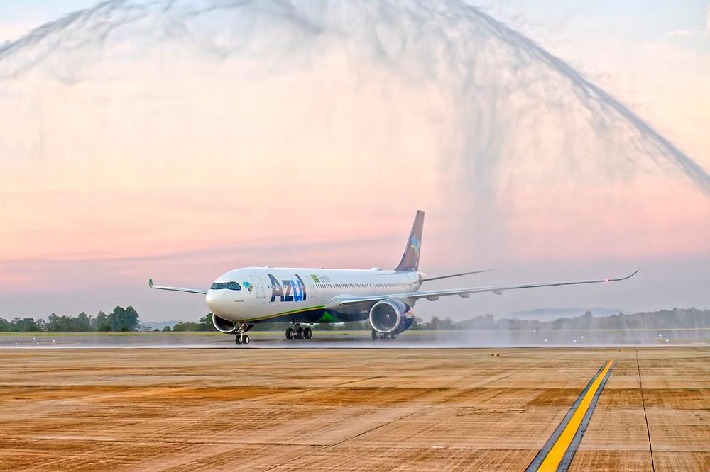 Para rotas internacionais como Portugal, Azul recebe primeiro A330-900neo das Américas