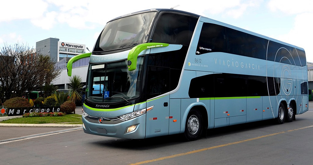 Viação Garcia e Brasil Sul Linhas Rodoviárias, ambas do grupo GBS, adquirem 25 ônibus Marcopolo