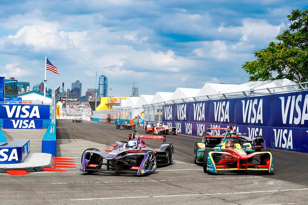 Sam Bird e DS Virgin Racing garantem duplo triunfo na Fórmula E nas ruas de Nova York
