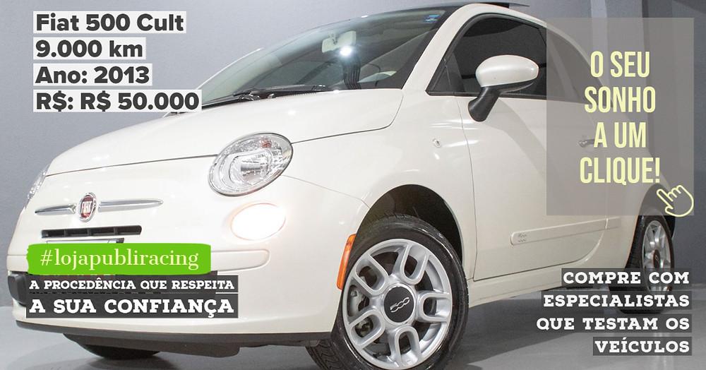 ACESSE #LOJAPUBLIRACING CLICANDO - Fiat 500 Cult