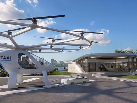 EXPRESSAS: Táxi aéreo do futuro