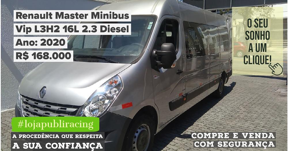 ACESSE #LOJA CLICANDO - Renault Master Minibus