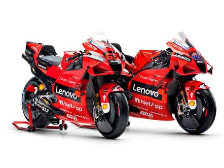 Apresentada a equipe Ducati Lenovo para a temporada 2021 do MotoGP