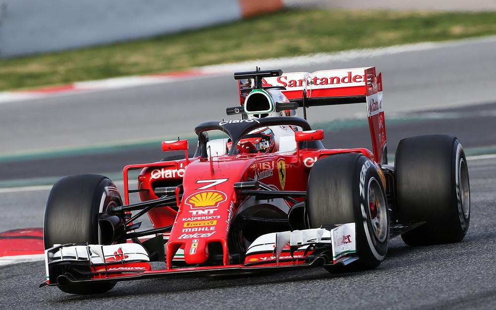 Ferrari, Catalunha - Barcelona