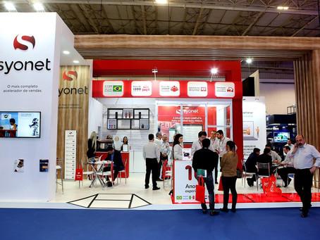 Syonet apresentou novo posicionamento da marca e as tendências de mercado na 29ª ExpoFenabrave