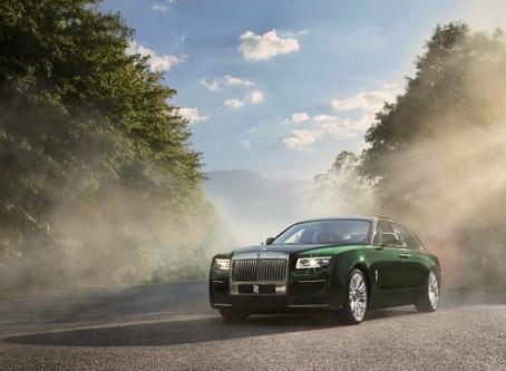 Novo Ghost Extended amplia a exclusividade da Rolls-Royce