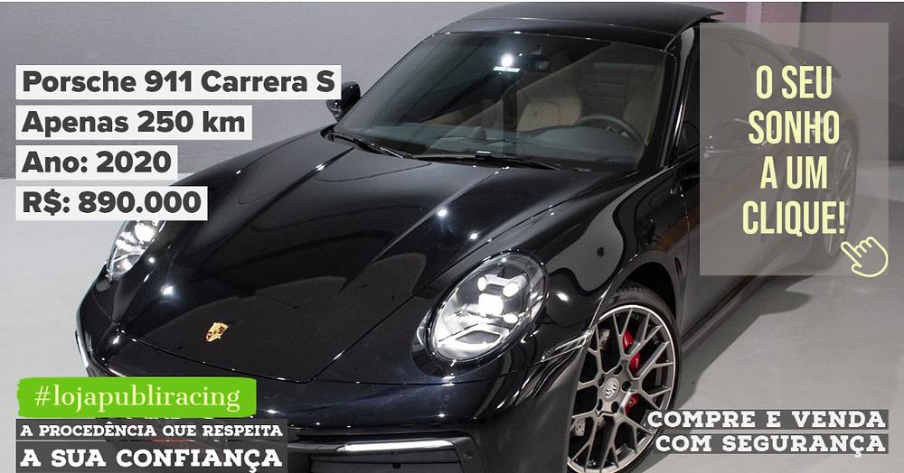 ACESSE #LOJAPUBLIRACING CLICANDO - Porsche 911 Carrera S