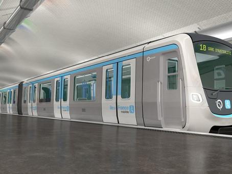Ferrovia: Alstom fornecerá seu sistema de operação automática para mais linhas do metrô de Paris