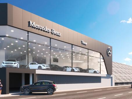 Mercedes-Benz reinaugura concessionários em Salvador e Belém