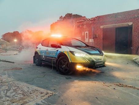 Nissan RE-LEAF é o carro pronto para emergências e totalmente elétrico