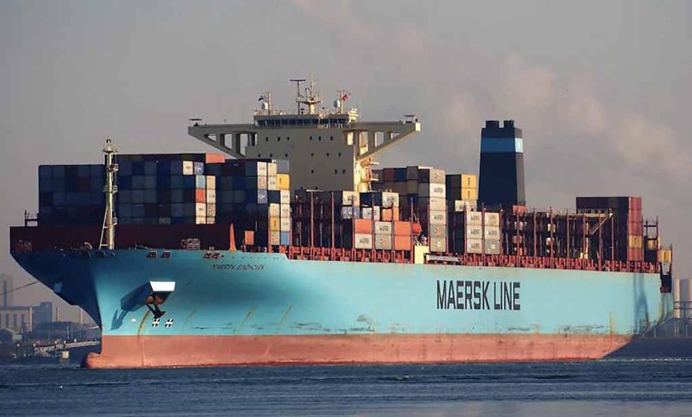 Logística: Maersk perde centenas de containers no mar
