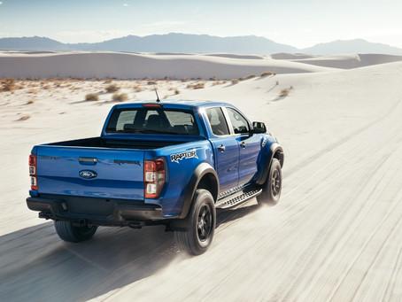 Ford apresenta na Europa o novo sistema de navegação off-road na Ranger Raptor