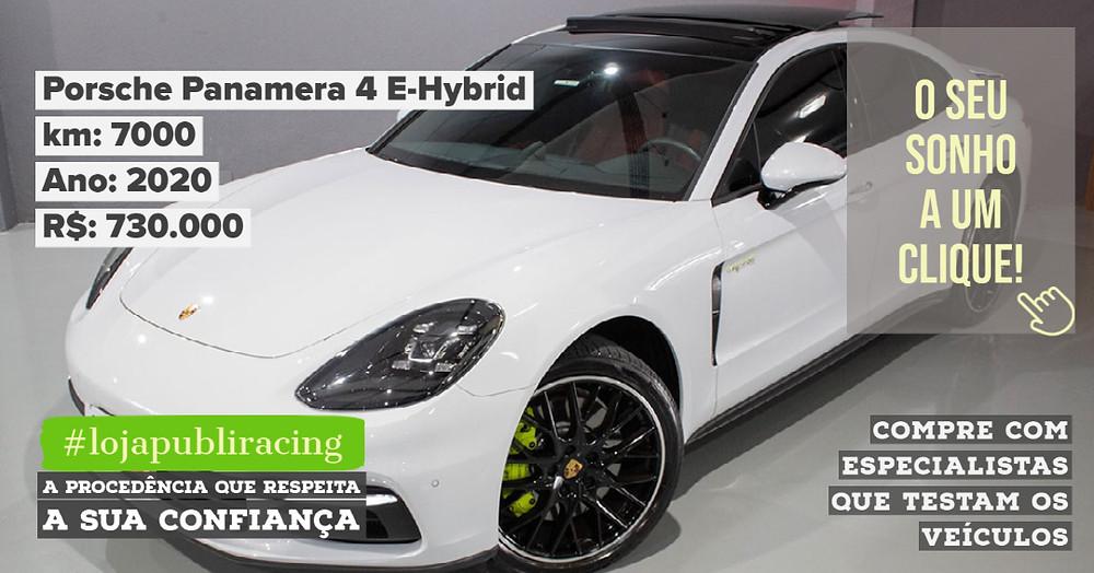 ACESSE #LOJA PUBLIRACING - Porsche Panamera 4 E-Hybrid