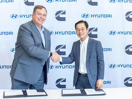 Cummins e Hyundai anunciam colaboração no desenvolvimento de tecnologia de célula de combustível