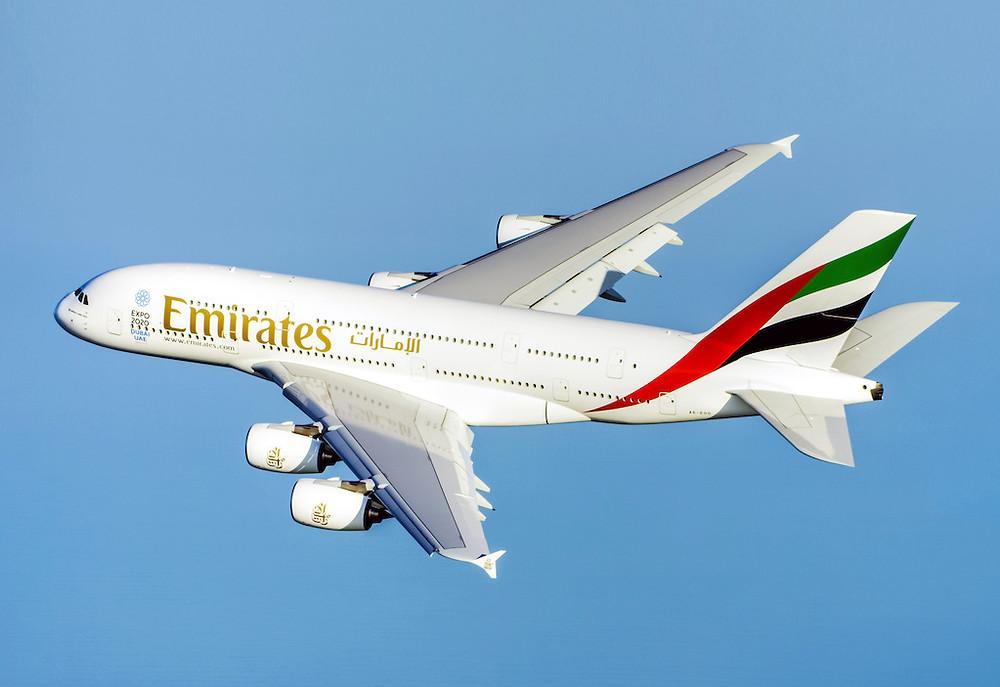 Emirates inicia operação completa com A380 para Pequim e Shangai