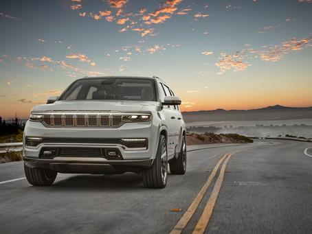 Jeep anuncia retorno do Wagoneer e Grand Wagoneer em 2021