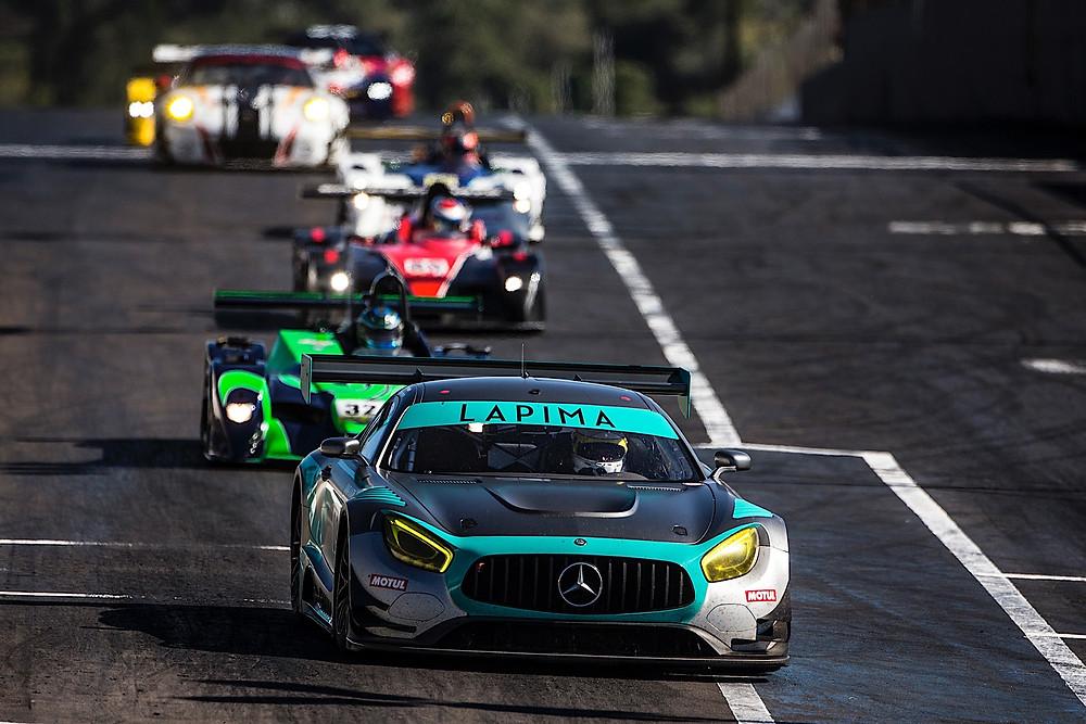 Mercedes AMG GT3, de Xandy e Xandinho Negrão,