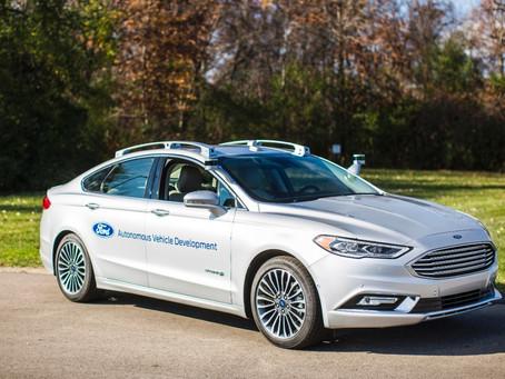 Ford Fusion em protótipo, hibrido e autônomo