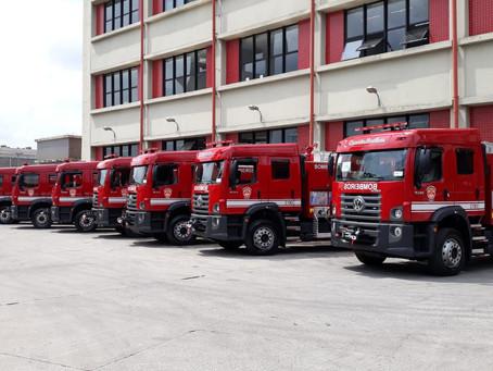40 caminhões VW Constellation reforçam frota do Corpo de Bombeiros de São Paulo