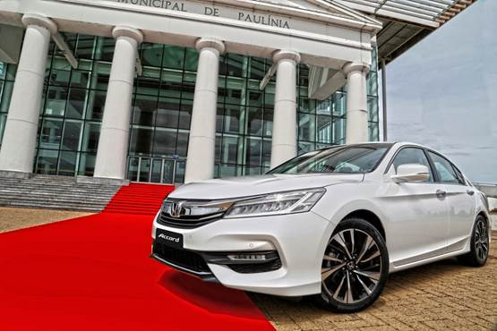 Honda apresenta novo Accord 2016 no Brasil