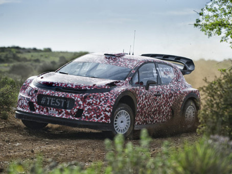 Citroen faz primeiros testes com o modelo de 2017 para o WRC