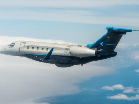 Aviação: A Aerodata compra da Embraer jato Praetor 600 para inspeções em voo
