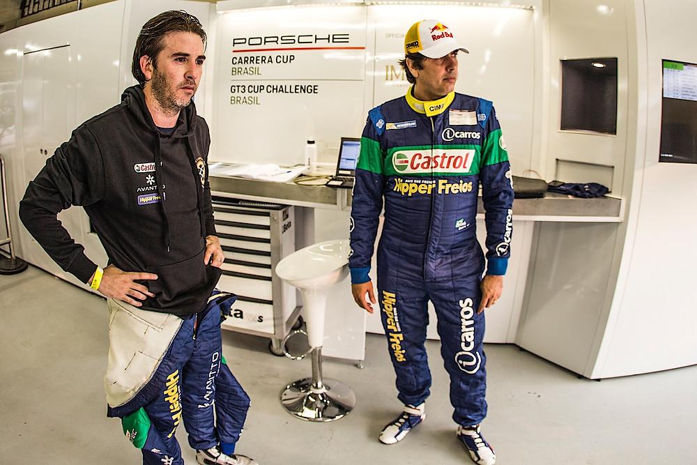 Porsche Cup: Cacá e Popó voltam a dividir o box depois de seis anos