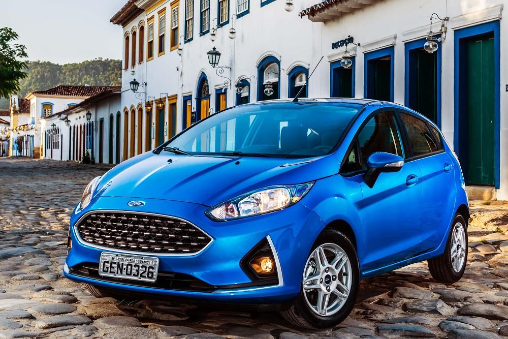 Com pequenos retoques no design, chega o New Fiesta 2018