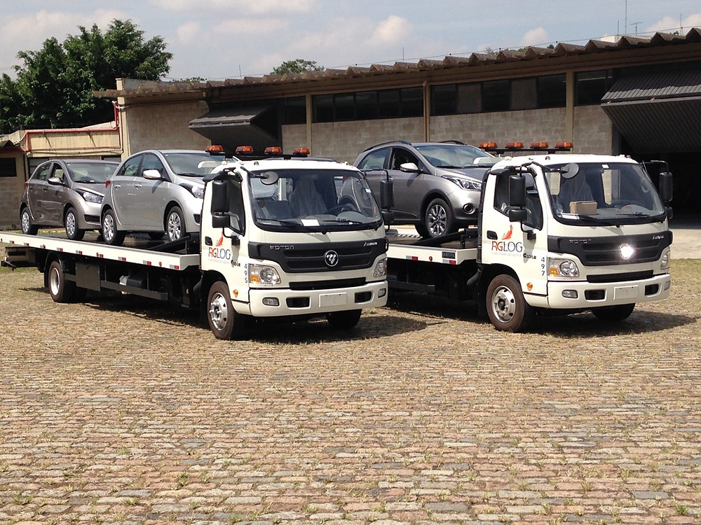 Foton Caminhões entrega nove veículos este ano para RG LOG