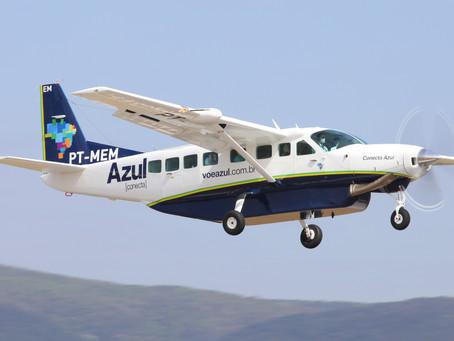 Aviação: Azul Conecta completa seis meses de operação em Serra Talhada e Caruaru, em Pernambuco