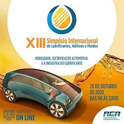 XIII Simpósio Internacional de Lubrificantes, Aditivos e Fluídos
