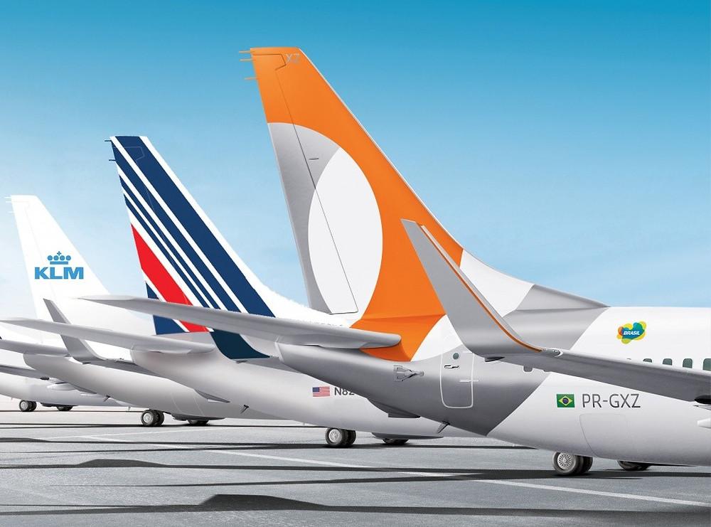 Air France KLM e GOL comemoram quarto ano da parceria e lançamento do HUB
